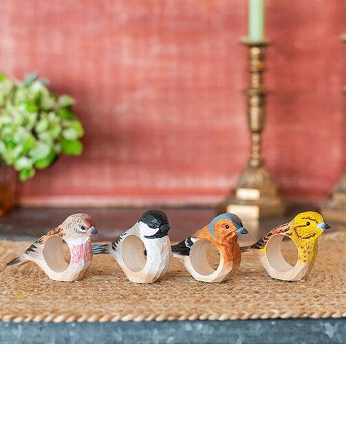 Vogel servetringen